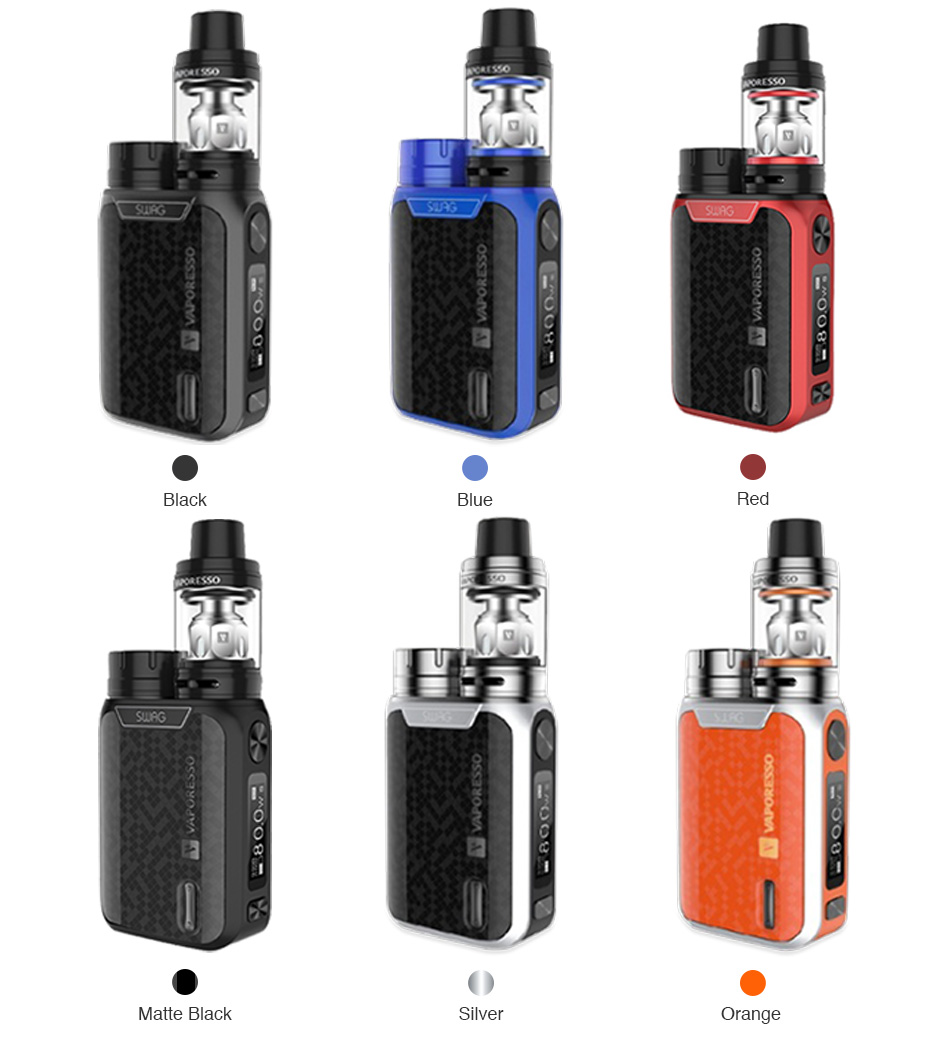 80W Vaporesso Swag TC Kit with NRG SE Tank - 2ml